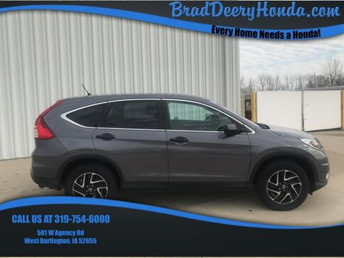 2016_Honda_CR-V_SE_ West Burlington IA