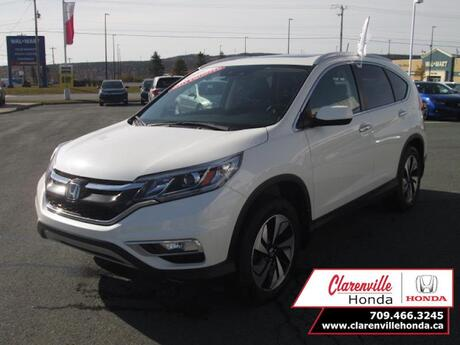 2016 Honda CR-V Touring  - Certified - Leather Seats - $204 B/W Clarenville NL