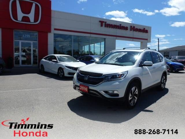 2016 Honda CR-V Touring Timmins ON