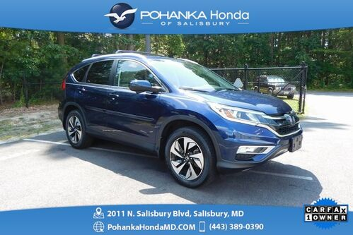 2016_Honda_CR-V_Touring AWD ** NAVI & SUNROOF ** ONE OWNER **_ Salisbury MD