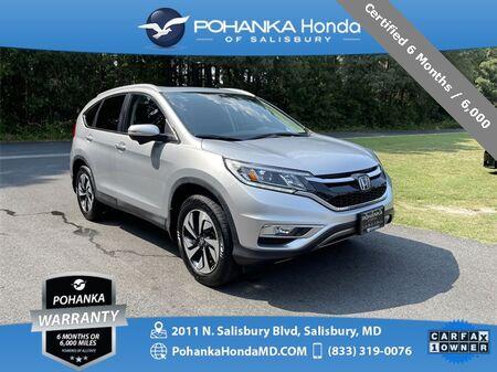 2016_Honda_CR-V_Touring AWD ** NAVI & SUNROOF ** ONE OWNER **_ Salisbury MD
