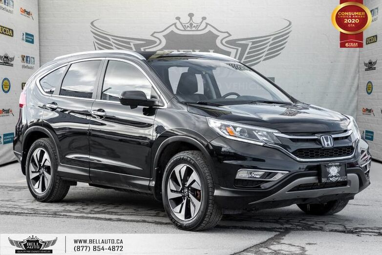 2016 Honda CR-V Touring, AWD, NO ACCIDENT, NAVI, REAR CAM, B.SPOT CAM Toronto ON