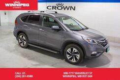 2016_Honda_CR-V_Touring/Navigation/heated seats/Bluetooth streaming_ Winnipeg MB