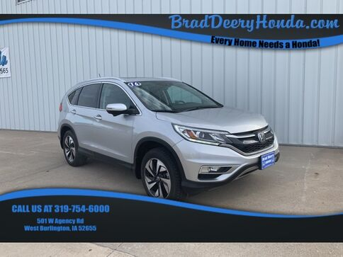 2016_Honda_CR-V_Touring_ West Burlington IA