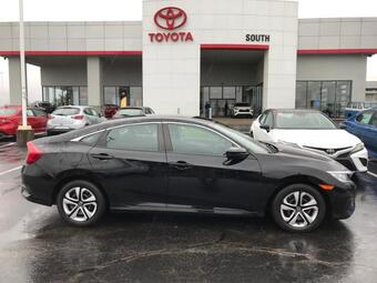2016_Honda_Civic_4dr CVT LX_ Richmond KY