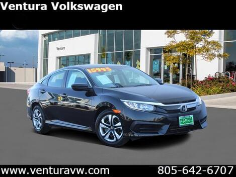 2016_Honda_Civic_4dr CVT LX_ Ventura CA