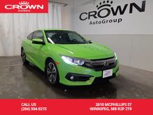2016_Honda_Civic Coupe_EX-T/2DR/ ONE OWNER/ ACCIDENT-FREE/ LOW KMS/ HEATED SEATS/ ECON MODE/ BACK UP CAM/BLUETOOTH_ Winnipeg MB
