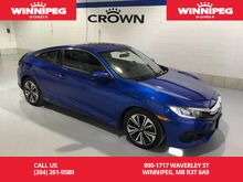 2016_Honda_Civic Coupe_EX-T/Turbo/Apple Carplay/Android Auto/Rear view camera/Heated seats_ Winnipeg MB
