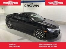 2016_Honda_Civic Coupe_Heated Seats/Rear View Camera/Apple Carplay/Android Auto_ Winnipeg MB