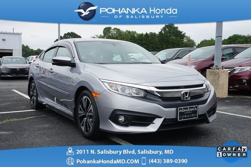 2016_Honda_Civic_EX-L ** SUNROOF & SIDE VIEW CAMERA ** ONE OWNER **_ Salisbury MD