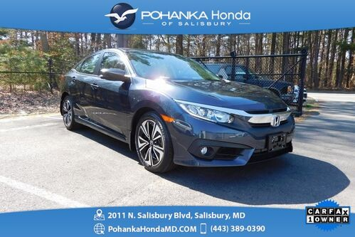 2016_Honda_Civic_EX-L w Navigation **Turbocharged ** 1 OWNER **_ Salisbury MD