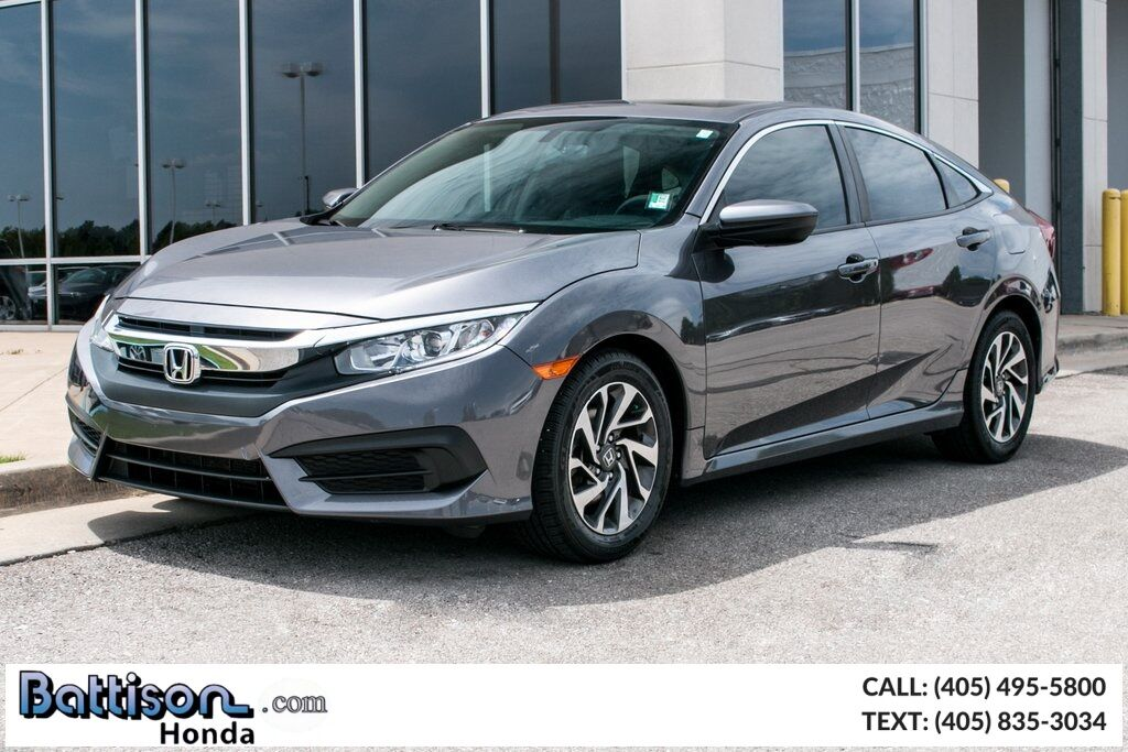 2016_Honda_Civic_EX_ Oklahoma City OK