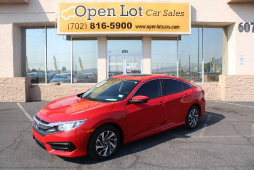 2016 Honda Civic EX Sedan CVT Las Vegas NV