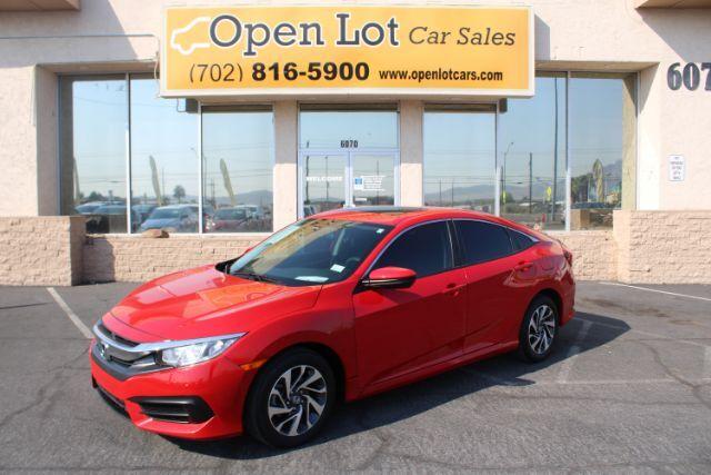 2016 Honda Civic EX Sedan CVT Las Vegas NV