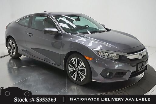 2016_Honda_Civic_EX-T Coupe CAM,SUNROOF,HTD STS,KEY-GO,17IN WLS_ Plano TX