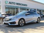 2016 Honda Civic EX-T Coupe CVT, SUNROOF, CLOTH SEATS, BACKUP CAMERA, BLUETOOTH PHONE CONNECTIVITY