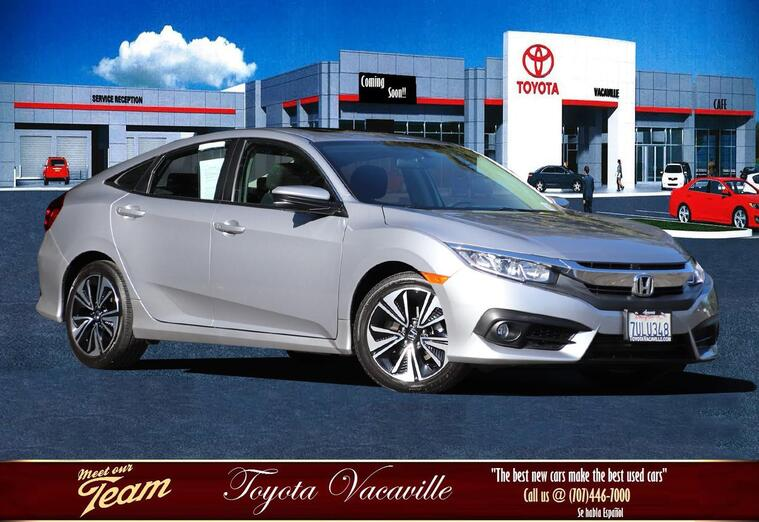 2016 Honda Civic Ex-t Sedan Vacaville CA