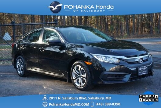 2016_Honda_Civic_LX ** BEST MATCH ** BACK UP CAMERA ** ONE OWNER **_ Salisbury MD