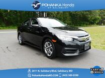 2016 Honda Civic LX ** Honda Certified 7 Year / 100,000  **