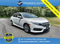 2016 Honda Civic LX ** Pohanka Certified 10 Year / 100,000 **