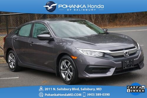 2016_Honda_Civic_LX ** REAR VIEW CAMERA ** ONE OWNER **_ Salisbury MD