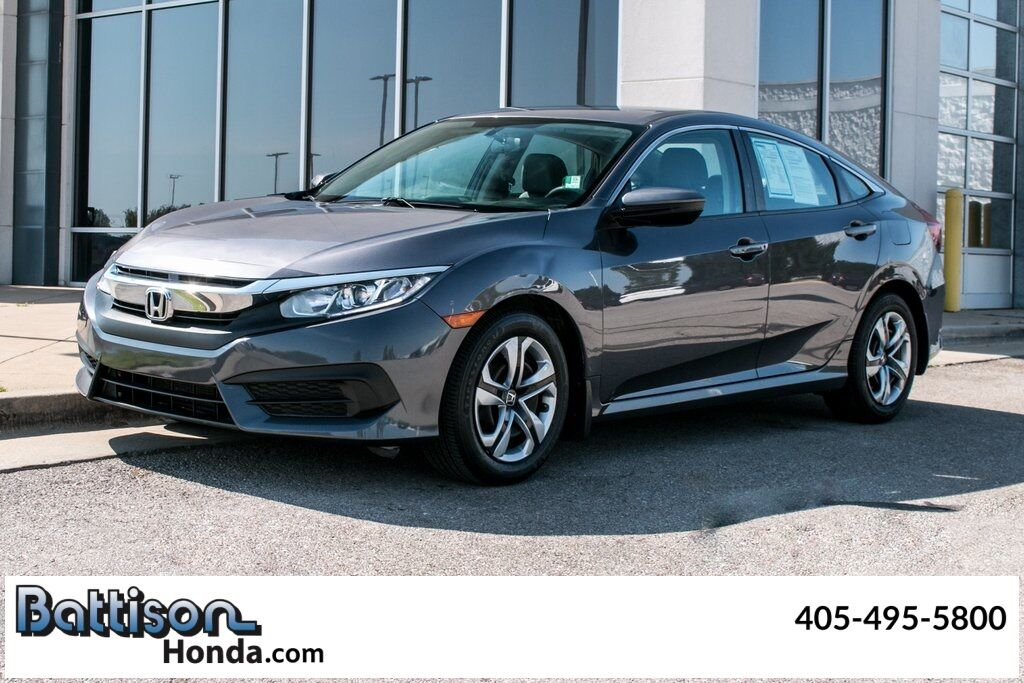 2016_Honda_Civic_LX_ Oklahoma City OK
