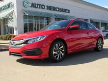 2016_Honda_Civic_LX-P Coupe CVT CLOTH SEATS, SUNROOF, BACKUP CAMERA, BLUETOOTH PHONE CONNECTIVITY, USB INPUT_ Plano TX