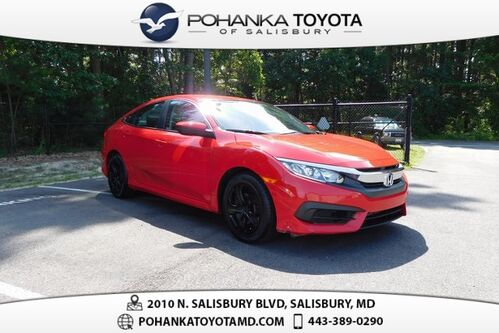 2016_Honda_Civic_LX_ Salisbury MD