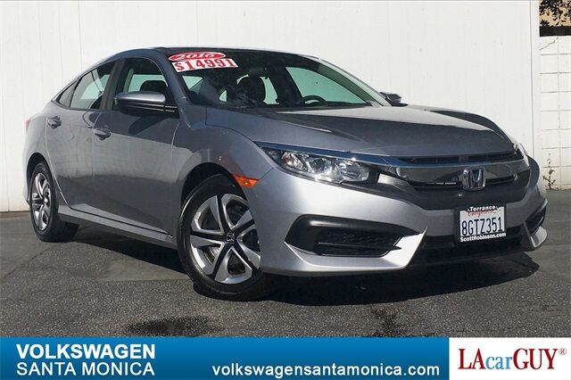 2016_Honda_Civic_LX_ Santa Monica CA