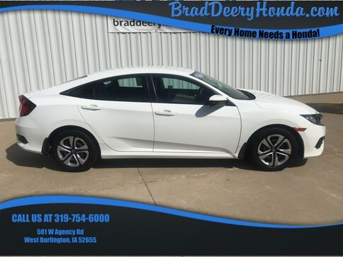 2016_Honda_Civic_LX_ West Burlington IA