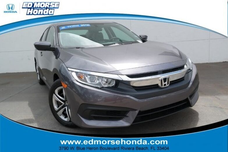 2016 Honda Civic Sedan 4dr CVT LX Riviera Beach FL