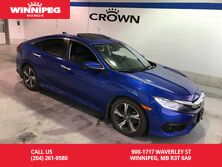 2016 Honda Civic Sedan Certified/Touring/Leather/Navigation/Sunroof/Heated seats