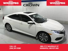 2016_Honda_Civic Sedan_EX/Apple carplay/Android Auto/Lane watch/Heated seats_ Winnipeg MB
