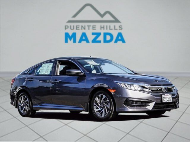 2016 Honda Civic Sedan EX City of Industry CA