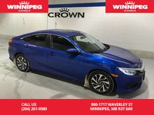 2016_Honda_Civic Sedan_EX/Lane Watch/Apple Carplay/Android Auto/Heated seats/Rear view cam_ Winnipeg MB