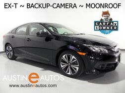 2016_Honda_Civic Sedan EX-T_*BACKUP & SIDE CAMERAS, TOUCH SCREEN, MOONROOF, ALLOY WHEELS, BLUETOOTH PHONE & AUDIO_ Round Rock TX