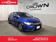2016_Honda_Civic Sedan_EX/ accident-free history/ one owner lease return/ low kms/ econ_ Winnipeg MB