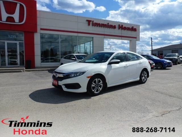 2016 Honda Civic Sedan LX Timmins ON