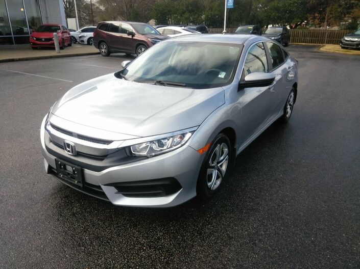 2016 Honda Civic Sedan LX 2.0L Tuscaloosa AL