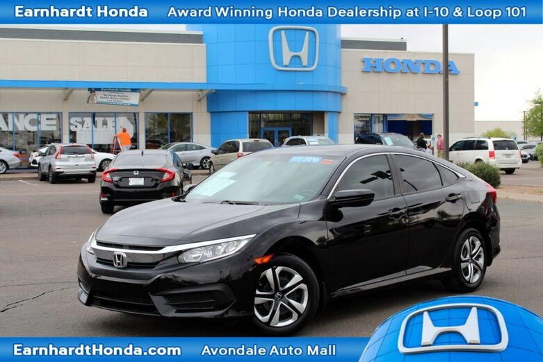 Certified Used Cars >> Certified Used Cars Avondale Az Earnhardt Honda