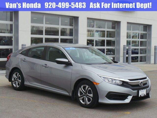 2016 Honda Civic Sedan LX Green Bay WI