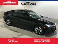 2016 Honda Civic Sedan LX/One owner/lease return/Low KM/Apple carplay