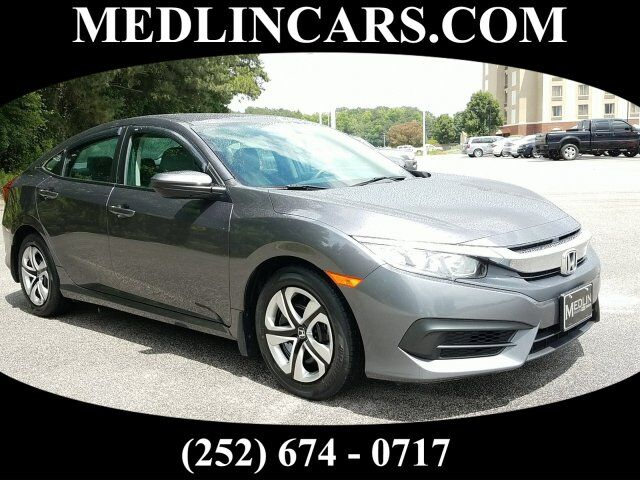 2016 Honda Civic Sedan LX Wilson NC