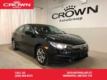 2016_Honda_Civic Sedan_LX / very low kms/ one local owner/ back up cam / heated seats_ Winnipeg MB