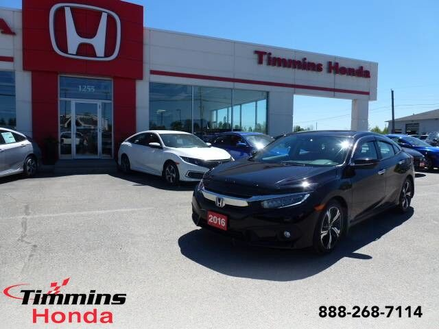 2016 Honda Civic Sedan Touring Timmins ON