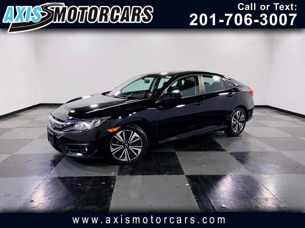 2016 Honda Civic Sedan w/Backup Camera Sun Roof
