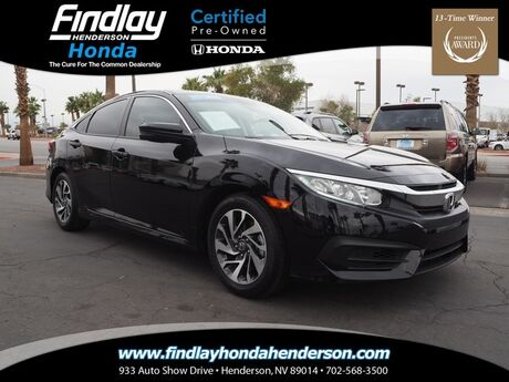2016 Honda Civic sedan EX Henderson NV