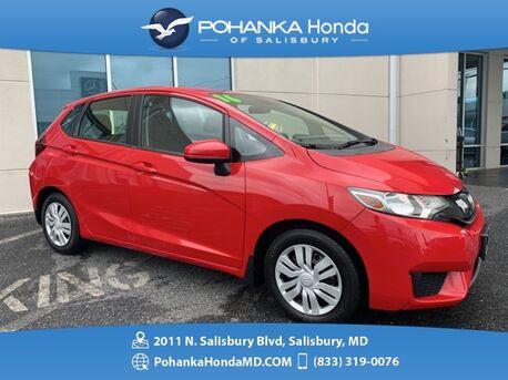 2016_Honda_Fit_LX ** Pohanka Certified 10 Year / 100,000  **_ Salisbury MD