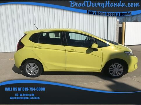 2016_Honda_Fit_LX_ West Burlington IA