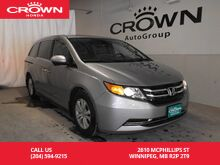 2016_Honda_Odyssey_4dr Wgn EX-L w/RES/ no accidents/ very low kms/rear entertainment sys/push start/ heated seats_ Winnipeg MB